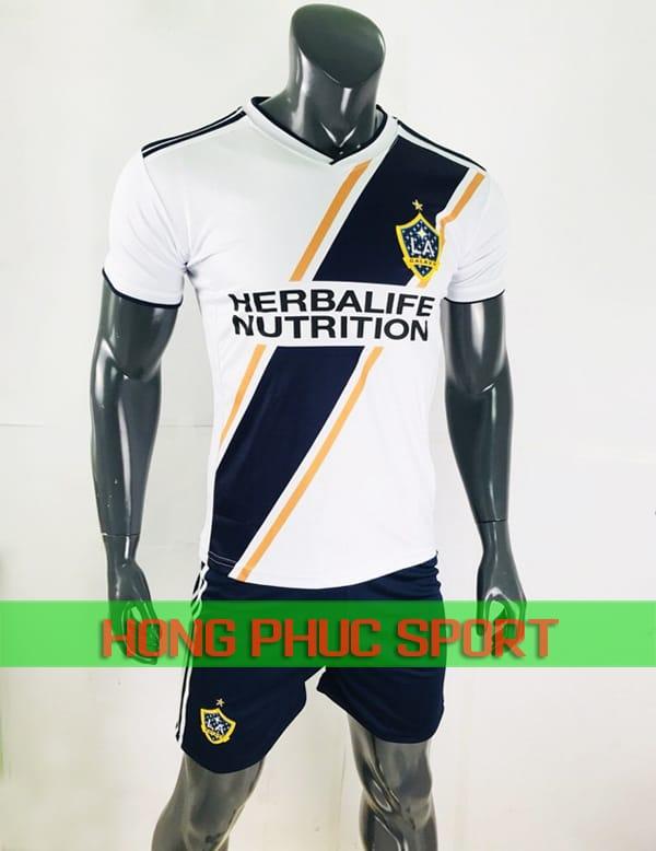 Bộ áo đấu LA Galaxy sân nhà 2018 màu trắng