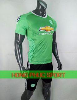 Bộ áo đấu thủ môn Man United 2018 2019 xanh lá cây