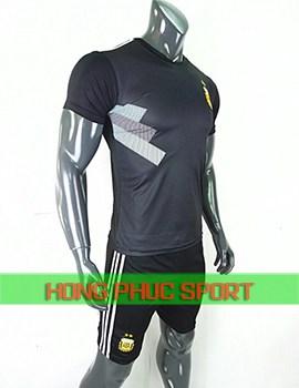 áo tuyển Argentinasân khách World Cup 2018 màu đen
