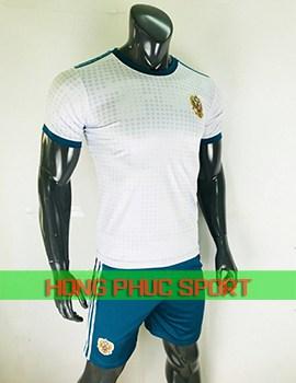 Bộ áo tuyển Nga sân khách World Cup 2018 màu trắng