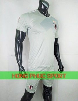 Áo tuyển Nhật Bản sân khách World Cup 2018 màu xám