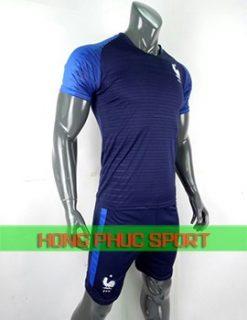 Áo tuyển Pháp sân nhà World Cup 2018 màu tím than