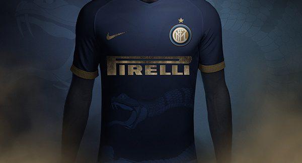 Áo đấu Inter Milan 2018 2019 mẫu thứ 3 xanh tím than