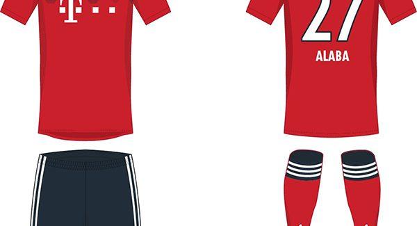 Thiết kế áo đấu Bayern Munich mùa giải 2018 2019