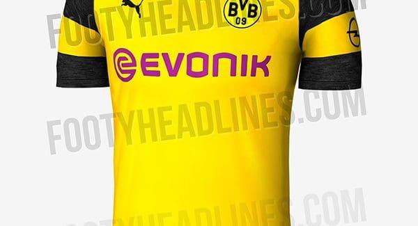Áo đấu Borussia Dortmund mùa giải 2018 2019