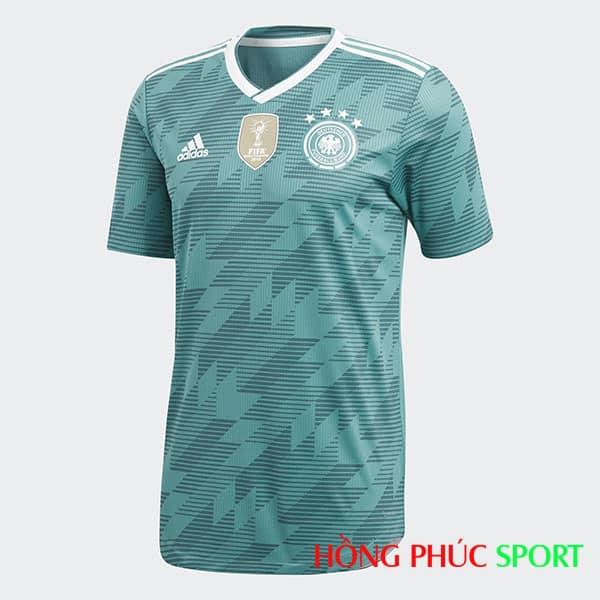 Áo đấu sân khách Đức (phía ngực áo)
