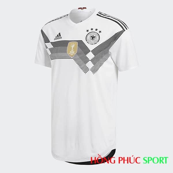 Áo đấu sân nhà đội tuyển Đức (phía ngực áo)