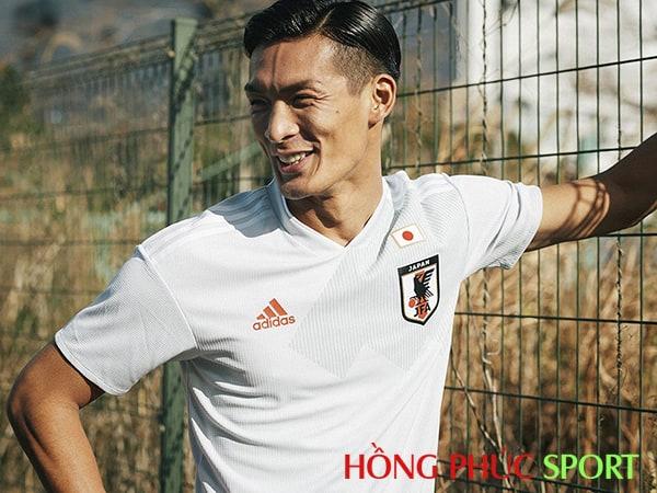 Mẫu áo đấu sân khách đội tuyển Nhật Bản World Cup 2018