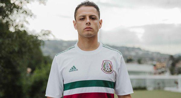 Mẫu áo đấu sân khách đội tuyển Mexico World Cup 2018