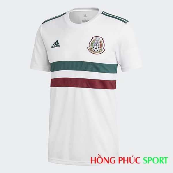 Áo đấu sân khách Mexico (Phía ngực áo)