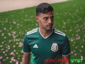 Mẫu áo đấu sân nhà đội tuyển Mexico World Cup 2018