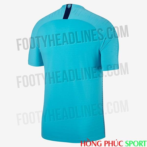 Mặt sau áo đấu sân khách đội tuyển Hà Lan 2018