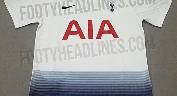 Mẫu áo đấu Tottenham sân nhà (Fake) được giới thiệu đến người hâm mộ