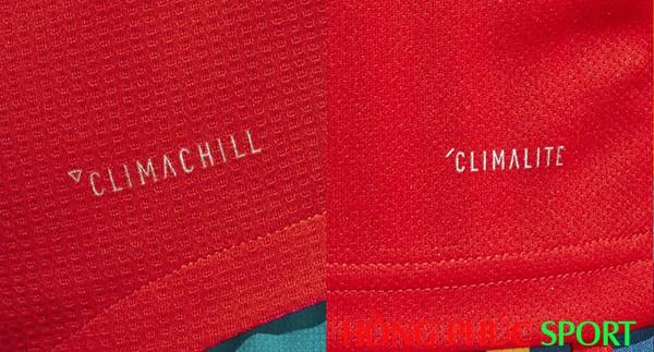 So sánh công nghệ Adidas Climachill và Adidas Climalite