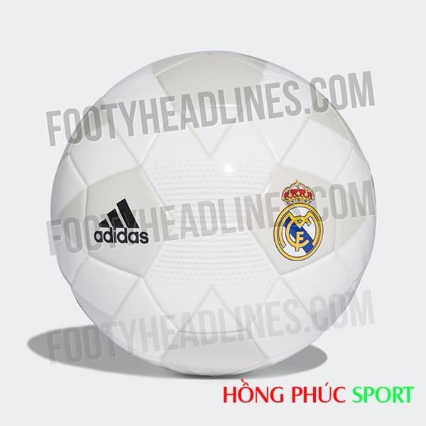 Mẫu bóng mang màu sắc áo đấu sân nhà Real Madrid mùa 2018/19