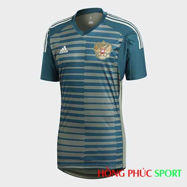 Áo đấu thủ môn đội tuyển Nga (phía ngực áo)