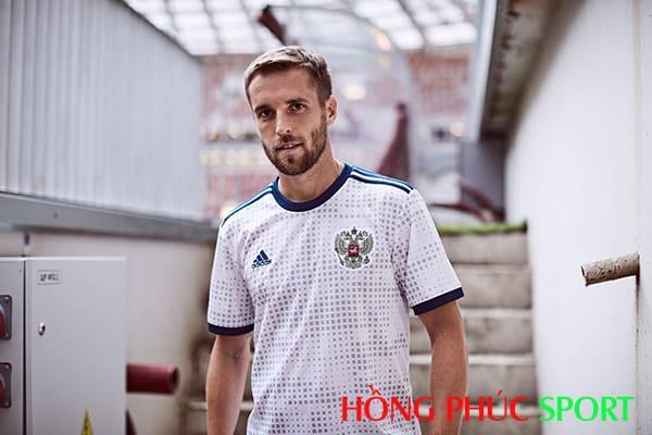 Mẫu áo đấu sân khách đội tuyển Nga World Cup 2018
