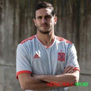 Mẫu áo đấu sân khách đội tuyển Tây Ban Nha World Cup 2018
