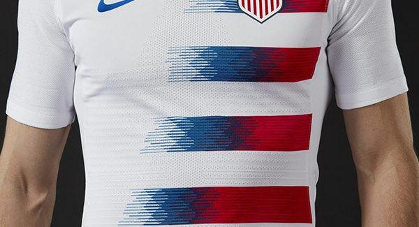 Áo đấu tuyển Mỹ 2018 sân nhà màu trắng