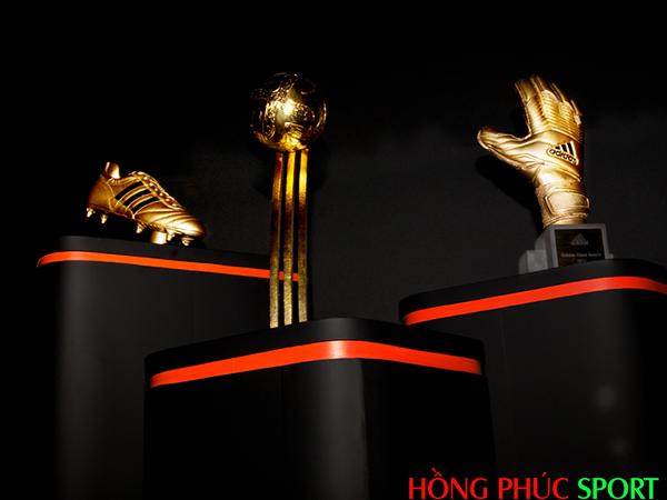 Chiếc giày Vàng, Quả bóng Vàng, Găng tay Vàng World Cup 2018