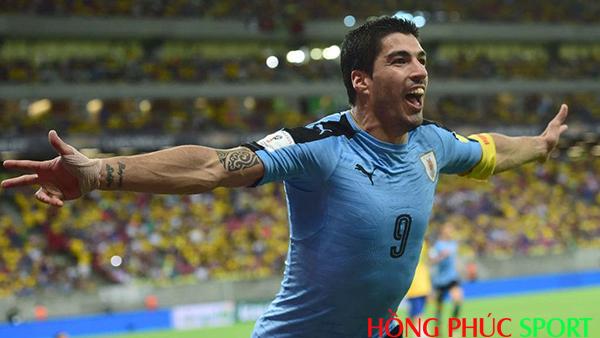 Sát thủ Suarez đội tuyển Uruguay