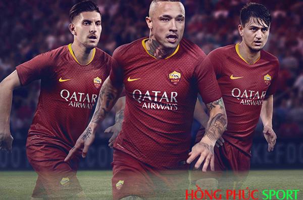 Công bố áo đấu AS Roma sân nhà mùa giải 2018 2019