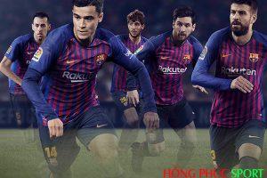 Poster lễ công bố áo đấu Barcelona sân nhà mùa giải 2018 2019Poster lễ công bố áo đấu Barcelona sân nhà mùa giải 2018 2019