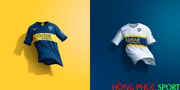 Áo đấu Boca Juniors mùa giải 2018 2019