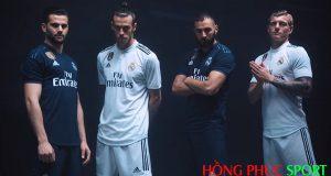 Poster ra mắt áo đấu Real Madrid mùa giải 2018 2019