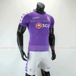 Áo bóng đá Hà Nội sân nhà 2019 2020 màu tím than