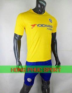 Áo đấu Chelsea sân khách 2018 2019 màu vàng
