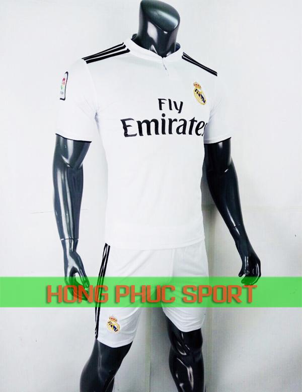 Bộ áo đấu Real Madrid sân nhà 2018 2019