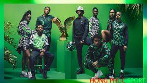 Poster quảng cáo áo đấu tuyển Nigeria