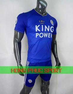 Áo đấu Leicester City sân nhà 2018 2019 màu xanh bích