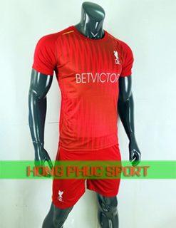Đồ đá banh áo Liverpool training 2018 2019 màu đỏ