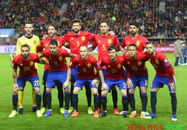 Ứng viên vô địch World Cup 2018 đội tuyển Tây Ban Nha
