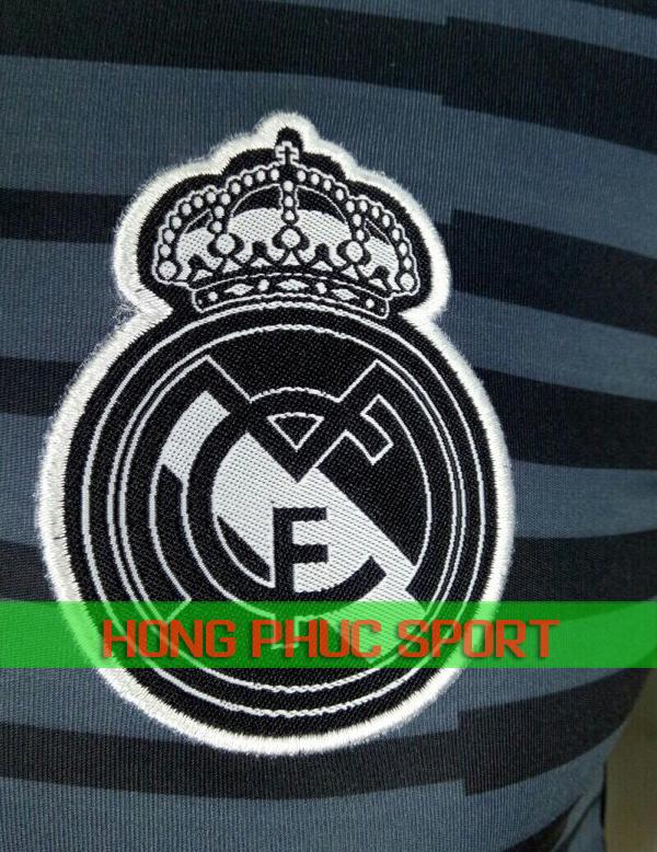 Logo áo thủ môn Real Madrid sân nhà 2018 2019