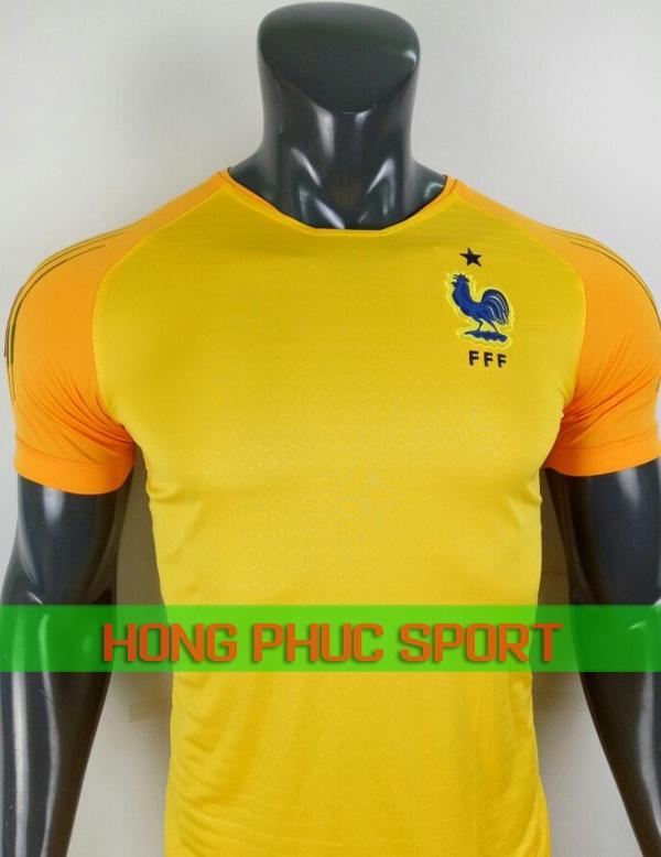 Áo thủ môn tuyển Pháp World Cup 2018 màu vàng