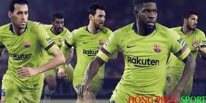 Công bố áo đấu Barca sân khách mùa giải 2018 2019