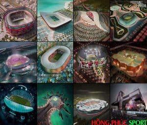 Khám phá 12 sân vận động siêu sang phục vụ World Cup 2022