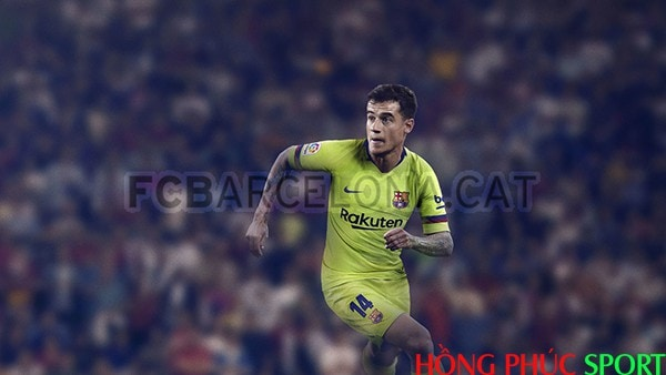 Tiền vệ tấn công Philippe Coutinho trong màu áo mới