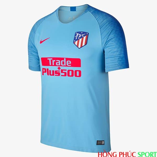 Phía trước áo đấu Atletico Madrid sân khách mùa giải 2018 2019