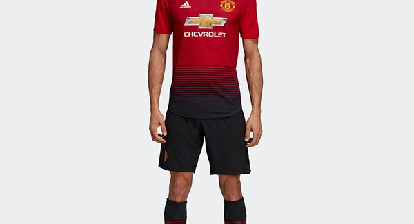 Trọn bộ áo đấu Manchester United sân nhà mùa giải 2018 2019