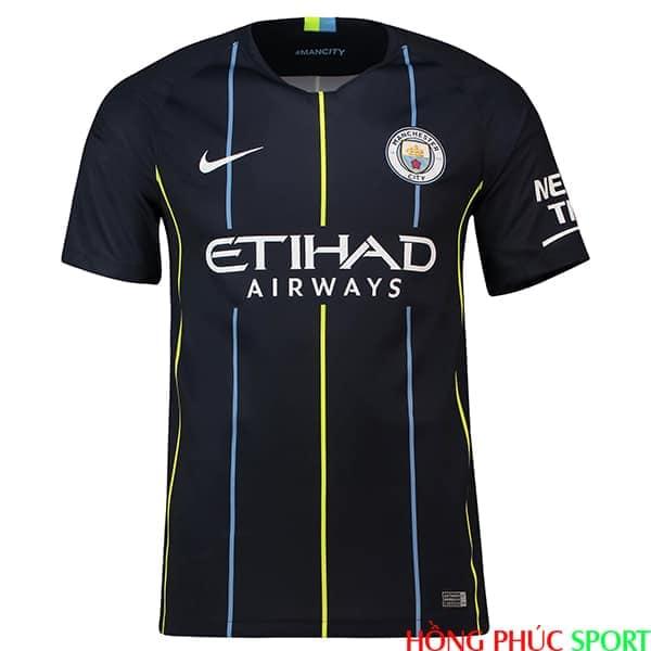 Phía trước áo đấu Man City mùa giải 2018 2019