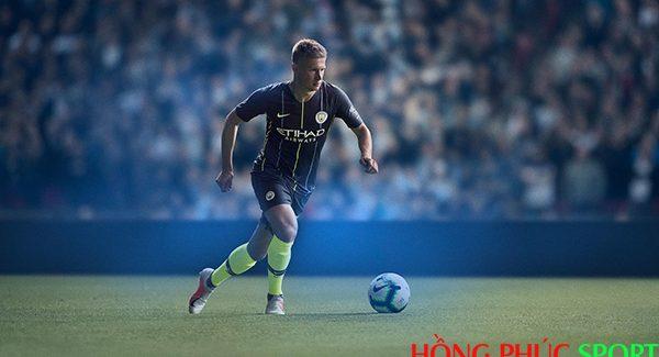 Áo đấu Man City sân khách mùa giải 2018 2019