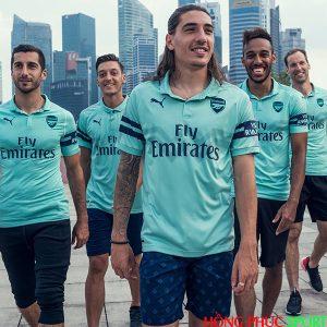 Công bố áo đấu Arsenal thứ ba mùa giải 2018 2019