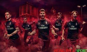 Công bố áo đấu AC Milan thứ ba mùa giải 2018 2019