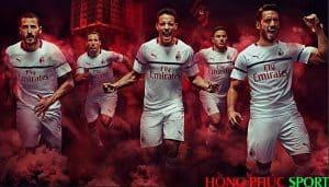 Công bố áo đấu AC Milan sân khách mùa giải 2018 2019