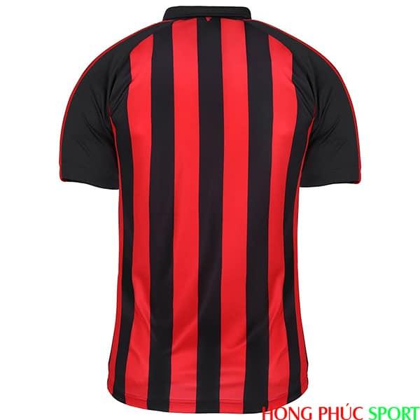 Phía sau áo đấu AC Milan sân nhà mùa giải 2018 2019
