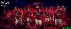 Công bố áo đấu AC Milan sân nhà mùa giải 2018 2019